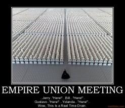 Lego Empire Union Meeting