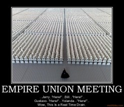 Lego Empire Union Meeting