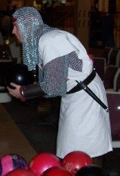 bowling in armor